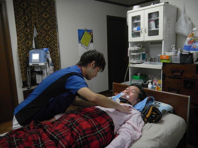 呼吸リハビリテーション(呼吸介助など)